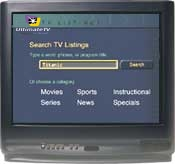 Search TV Listings.